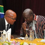 Jacob Zuma and Dramani Mahama