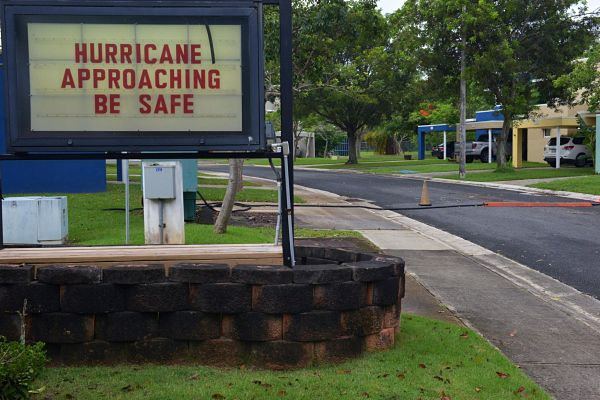 Hurricane be sage sign
