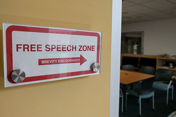 Free speech zone