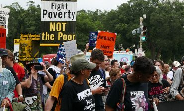 Marchers in 2018 Poor People's campaign