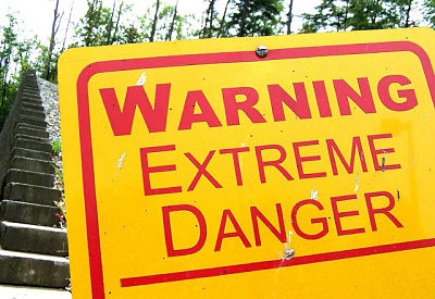 Sadly, in the field the warning signs may not be this obvious. (Photo: flattop341/Flickr)