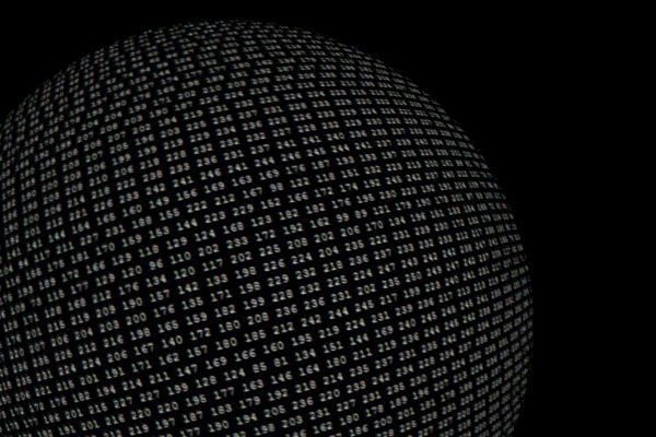 Globe of numbers