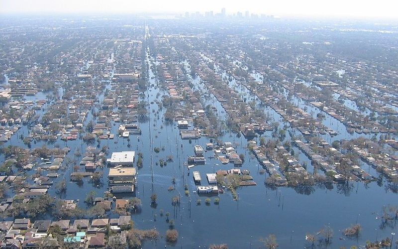 New Orleans after levee break