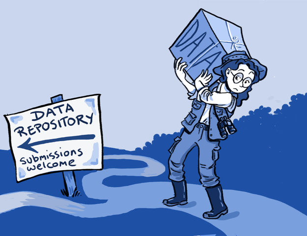 Data sharing cartoon