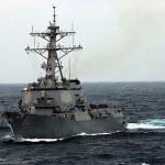 USS Lassen on FON patrol