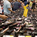 Guns at gun show