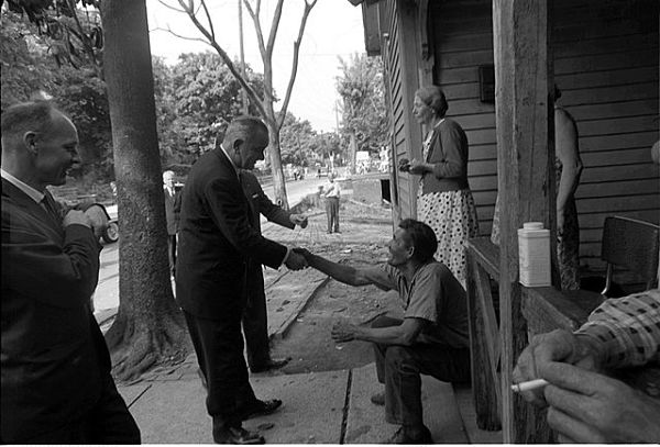 US President Lyndon Johnson's War on Poverty had its roots in studies of juvenile delinquency carried out by New York sociologists.