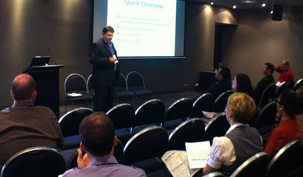 Presenting at academic conference