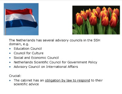 Science advsiors in the Netherlands