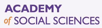 Academy of Social Sciences logo