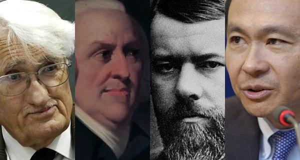 Habermas, Smith, Weber, Fukuyama .. who's on your team?