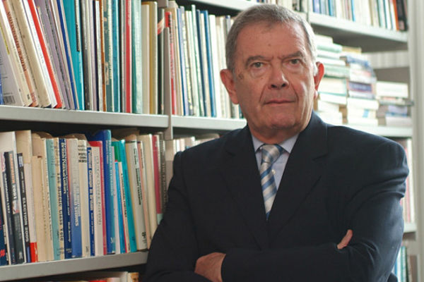 Anthony King started at the University of Essex in 1966, two years after the school's initial year. (Photo: University of Essex)