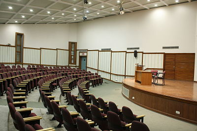 Auditorium at South Campus, DU