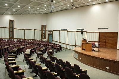 Auditorium at South Campus, DU