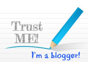 Trust me I'm a blogger