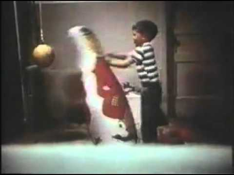 Bobo doll under attack