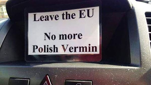 Brexit-era prejudice