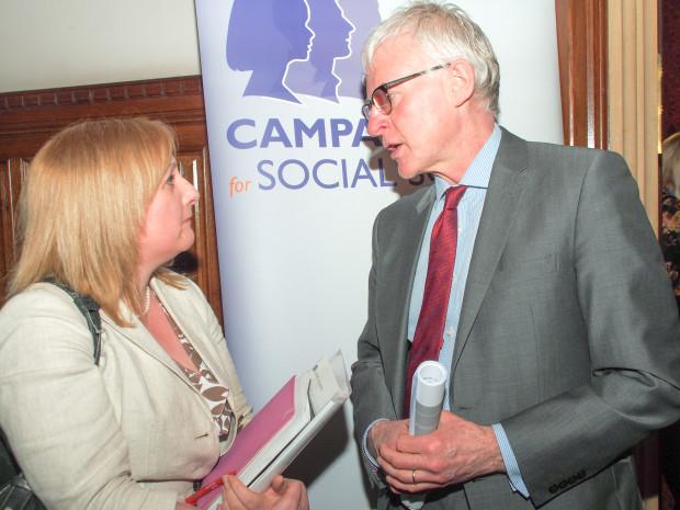 Lisa Cameron and Norman Lamb