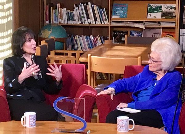 Carol Dweck and Sara Miller McCune