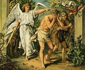 Cast out of Garden of Eden