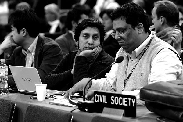 Civil society at conference