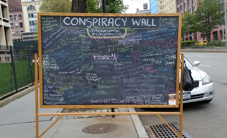 Conspiracy wall