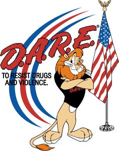 DARE logo lion