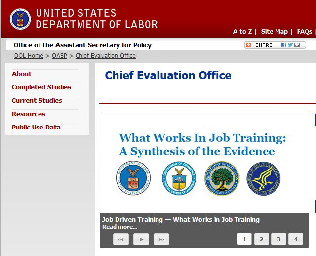 DOL eval office