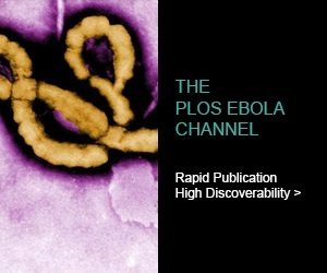 PLOS Ebola Channel logo