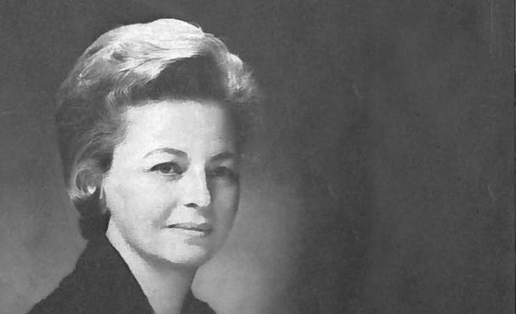 Eleanor Bernert Sheldon in 1972