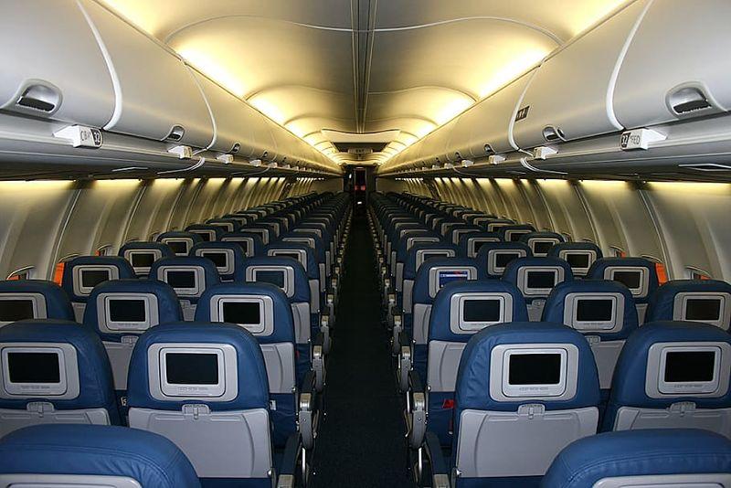 empty airliner