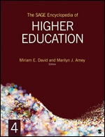cover of encyclopedia of higher education