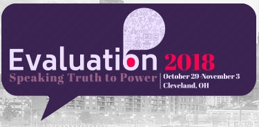 Evaluation 2018 logo