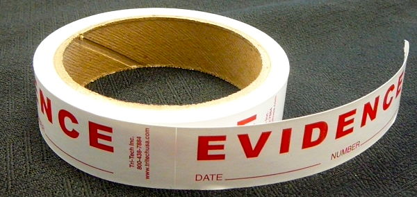 Evidence Stickers Roll