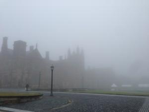 Fog at University of Sydney