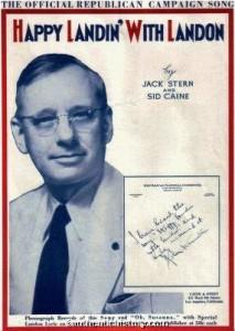 Alf Landon campaign song