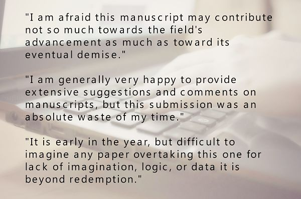 Please Follow the Golden Rule for Peer Review