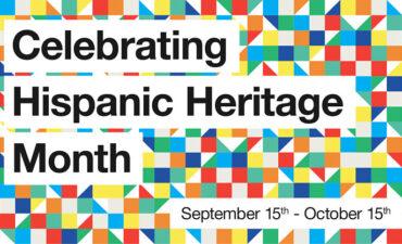 Celebrating Hispanic Heritage Month graphic