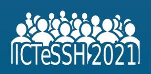 ICTeSSH 2021 logo