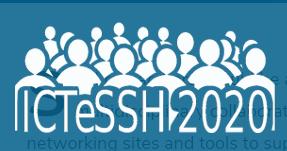 ICTeSSH 2020 logo