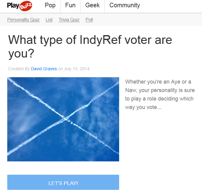 IndyRef game