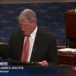 Senator Inhofe and his snowball