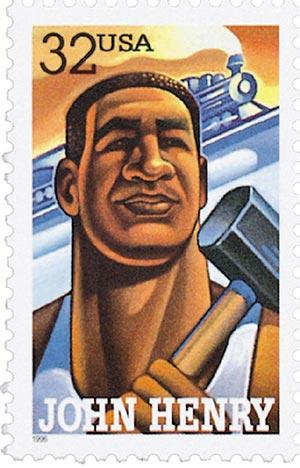 John Henry stamp
