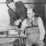 Social and behavioral scientists are getting better at determining who is telling the truth these days. Here, inventor American inventor Leonarde Keeler tests his lie-detector on a former witness in the 1935 Lindbergh baby kidnapping trial.