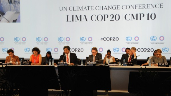 Lima Climate Change panel