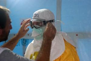 Medicins Sans Frontieres staff in Guinea