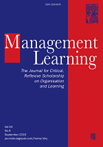 Management Learning cover