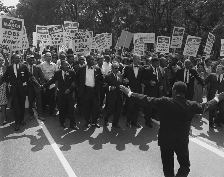1963 march on Washington, DC