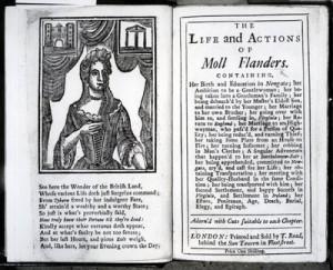 Moll Flanders frontspiece