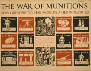 WWI munitions poster